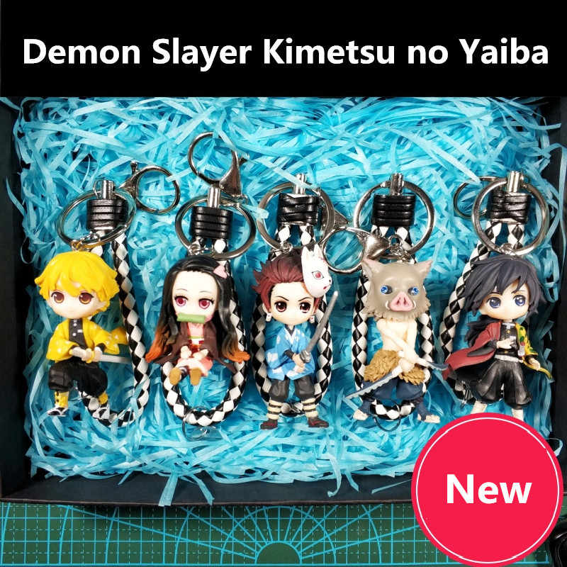 Kimetsu no Yaiba Llavero de Demon Slayer Agatsuma Zenitsu