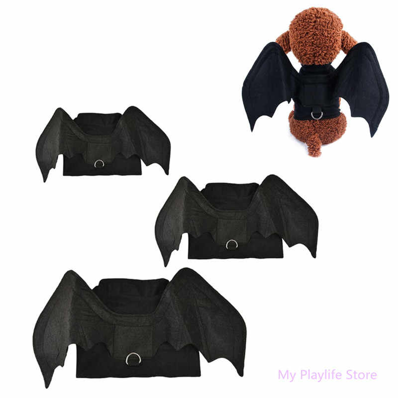 Pet Transform Clothes Halloween Funny 3D Bat Wing Costume Dogs Dress Up Clothing Gifts Christmas Pets Dog Puppy Coat Jackets C42