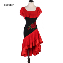 цена на 2020 Latin Dance Dress Women Latina Salsa Latin Dance Competition Dresses Fringe CHEAP Customize D0272 Appliques