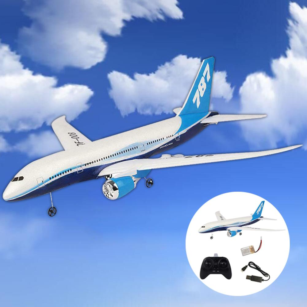 DIY EPP Remote Control Aircraft RC Drone Boeing 787 Fixed Wing Plane Kit Toy image
