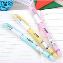 3 uds mezcla borrable bolígrafo de Gel para oficina escuela tinta azul escribir bolígrafo material de papelería para estudiantes borrable lapicero de Gel para estudiante chico