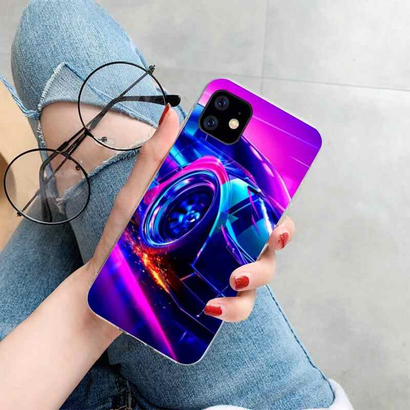 HPCHCJHM Rocket League game Coque Shell Phone Case for iPhone 11 pro XS MAX 8 7 6 6S Plus X 5S SE 2020 XR cover