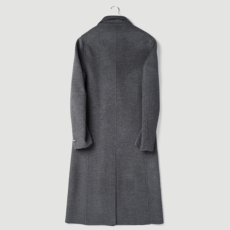 Wool Coat Autumn Winter Jacket Men Handmade Double-sided Woolen Coats Mens Korean Jackets Abrigo Hombre P-S8291Z MY1330