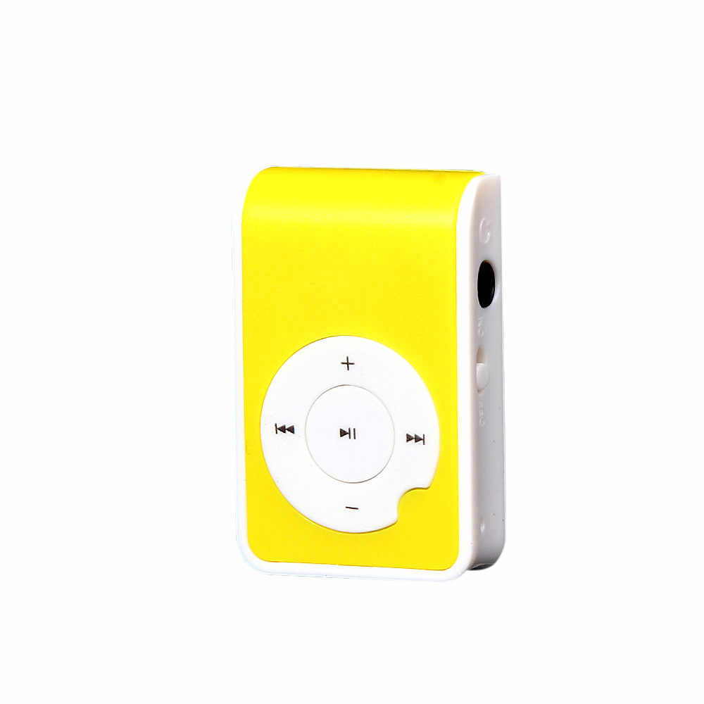 Ouhaobin MP3 プレーヤーミニ音楽メディアクリッププレーヤーポータブル液晶画面 USB サポートマイクロ SD TF カード音楽メディア