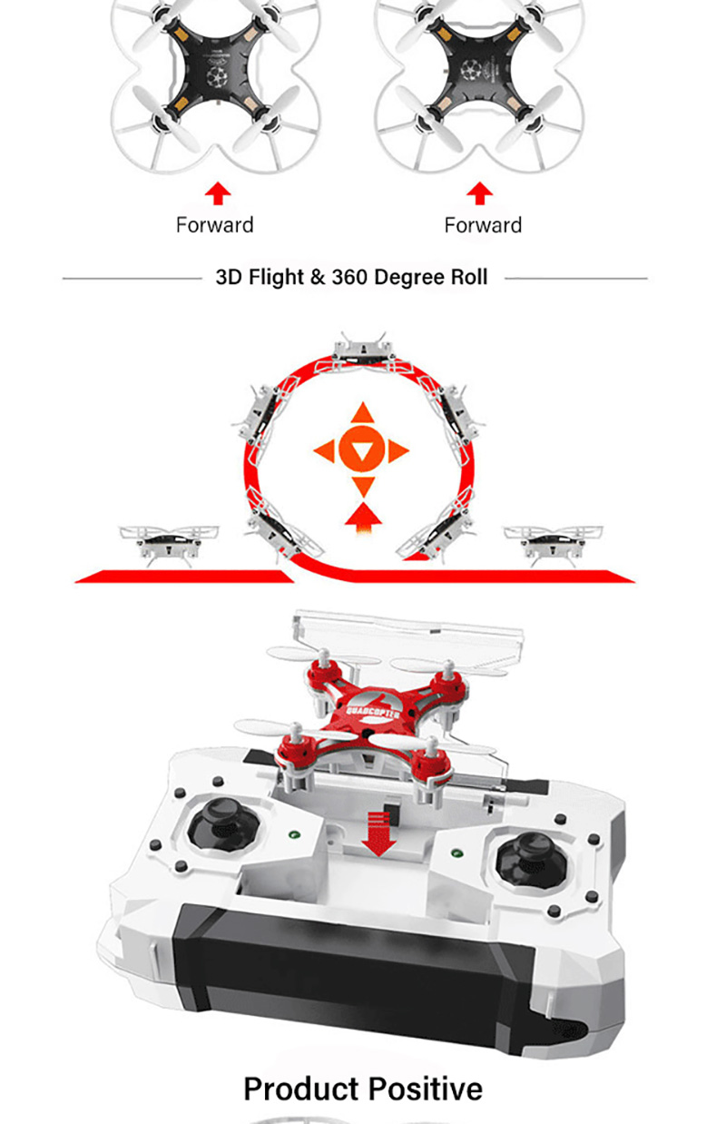 Toy Drones Convertible 4CH 7