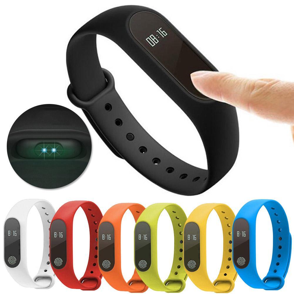 M2 Heart Rate Monitor Sports Pedometer Fitness Tracker Bluetooth Smart Bracelet
