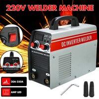 DC Inverter ARC Welder 220V IGBT MMA Welding Machine 20 250Amp 4000W For Home Beginner Welding Electric Working