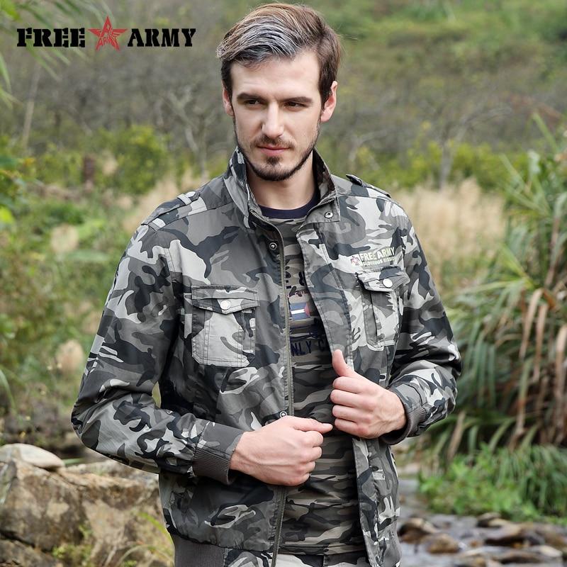 FREIE ARMEE Neue Männer Jacke Jean Military Plus 4XL Grün Baumwolle - Herrenbekleidung - Foto 3