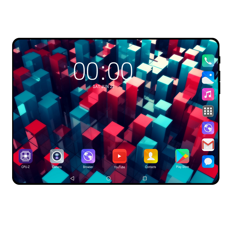10.1 Inch Tablet Pc 1920*1200 IPS 10 Core 8GB RAM 128GB ROM 4G FDD LTE Wifi Bluetooth Phone Call Glass Screen Android 9 Tablets