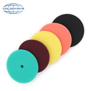 Image 3 - 6 Inch Polishing Pad Polish Pads Polishing Disc for 5inch Backing Plate Car Polisher Auto Accessorie Remove Dents Wax Sponge