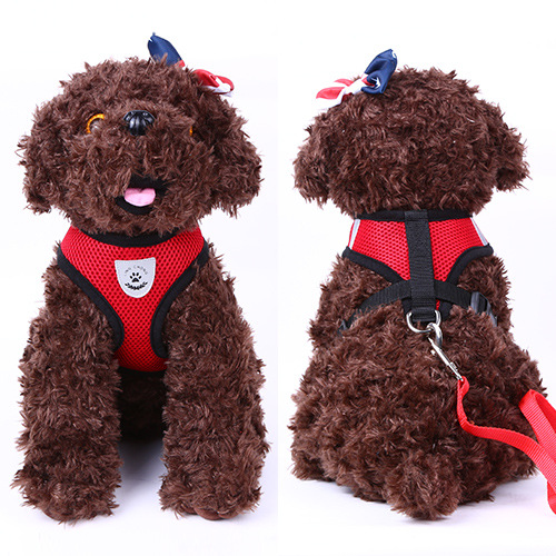 Vest Style Pet Traction Rope Puppy Dog Xiong Bei Tao Hand Holding Rope Teddy VIP Small Dogs Dog Rope