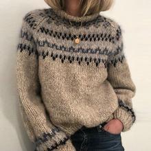 Свободный осенне зимний свитер для женщин 2020 новый элегантный