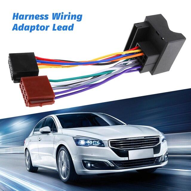 Arnés de cableado de Radio estéreo para coche, adaptador de Cable para Ford Galaxy Mondeo Fiesta, Etc., novedad de 2019