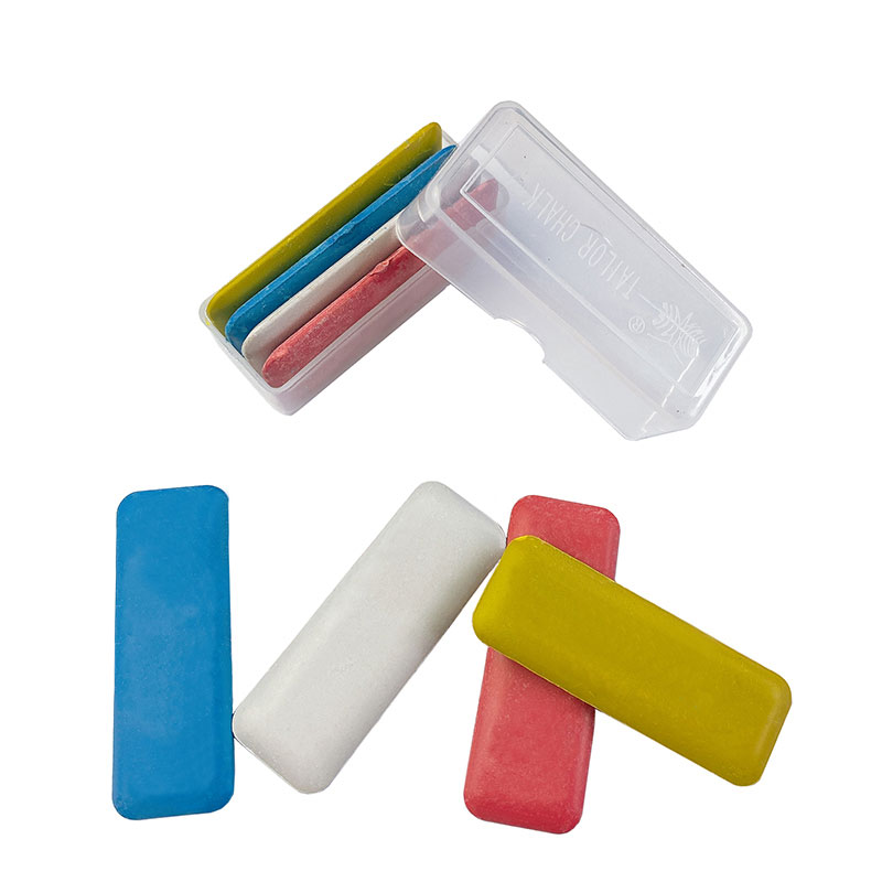 LLguz 10PCS Sewing Chalks Marker Erasable Tailors Chalk for Embroidery Patchwork Marking,Triangular Shape Easy to Grip