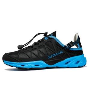 Image 3 - Unisex Đi Bộ Đường Dài Giày Không Lưới Ánh Sáng Ngoài Trời Giày Leo Núi Dành Cho Nữ Đi Biển Nước Aqua Giày Zapatillas De Agua