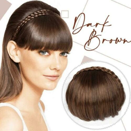 Secret Bang 16Cm 4Color Clip In Hair Bangs Hairpiece Accessories Synthetic Fake Bangs Hair Piece Clip In Hair Extensions