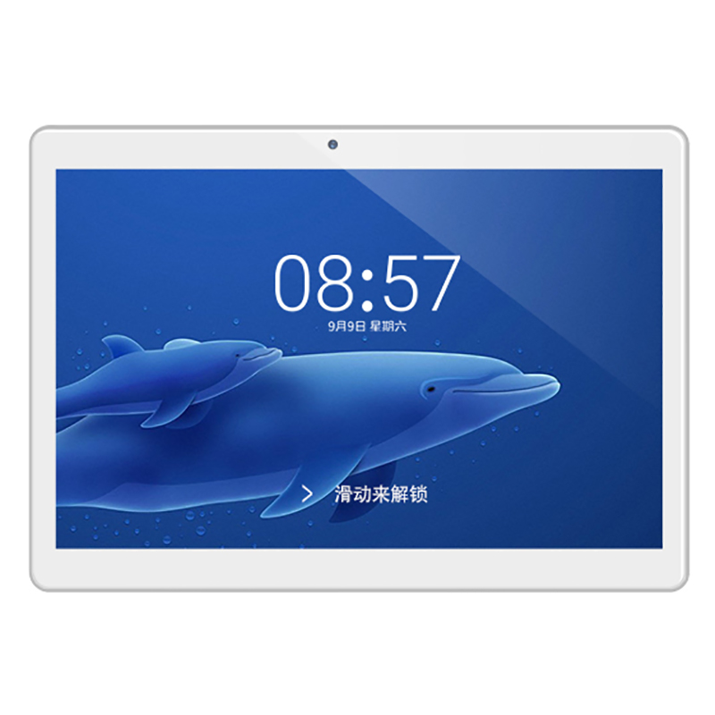 HOT-Alldocube U63 Plus Iplay 9 9.6 Inch 800X1280 Ips Screen Mt6582V Quad Core 1.3Ghz 3G Call 2Gb/32Gb Mobile Tablet Laptop--Whit