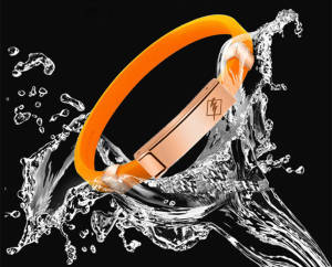 Rubber Bracelet Wristband Power-Bangle Balance Fashion Jewelry Silicone Radiation-Protection