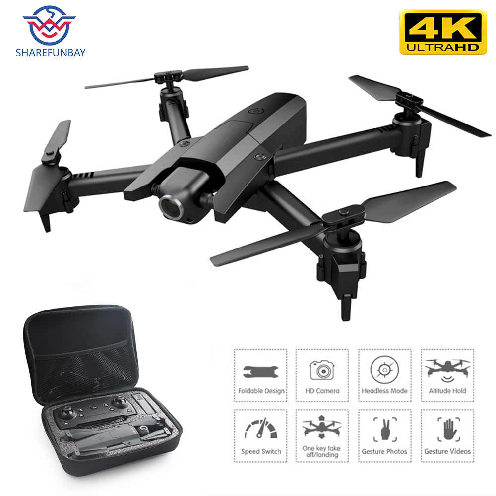 Drone Baru 4 K HD 1080 P WiFi Video Real Time FPV Drone Optical Flow untuk Menjaga Tinggi Quadcopter Vs e58 E520S GD89 Drone Kamera