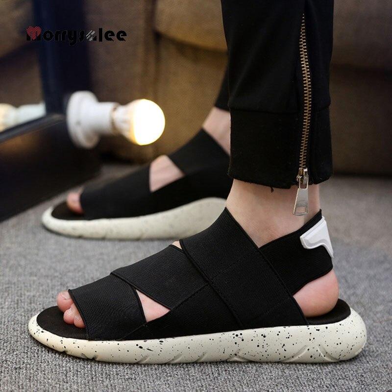 2020 Summer Outdoor Beach Men Sandals Men Comfortable Sandals Man's Beach Slippers Non-Slip Soft Rubber Men's  Shoes