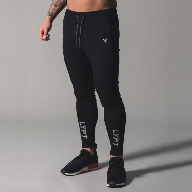 2021 New Men's sports pants Fitness Jogging pants Fitness Jogging pants Slim Men's Leisure cotton Training 6