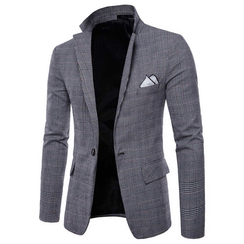 Горячая Распродажа, Новое поступление, модный Блейзер, мужская повседневная куртка, однотонный хлопковый Мужской Блейзер, пиджак, мужской классический мужской костюм, куртки, пальто