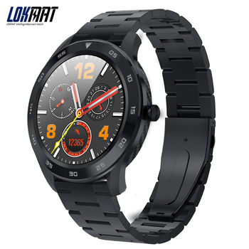 LOKMAT Fitness Tracker Sport Smart Watch Men PPG + ECG Heart Rate Monitor Bluetooth 5ATM Waterproof Sport SmartWatch For ios