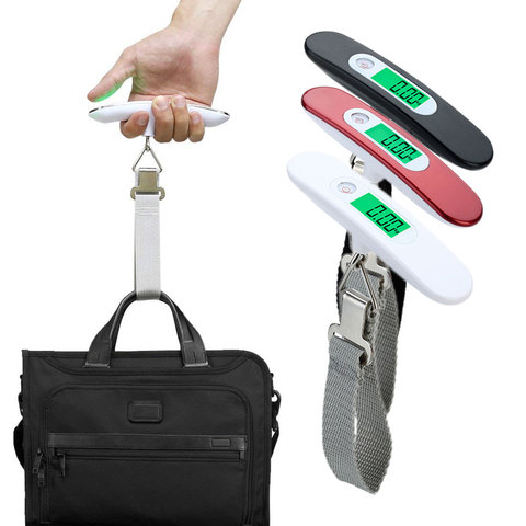 1pcs Digital Luggage Scale Handheld LCD Hanging Scale Electronic Portable Travel Suitcase Bag ScaleWeight Balance Multan
