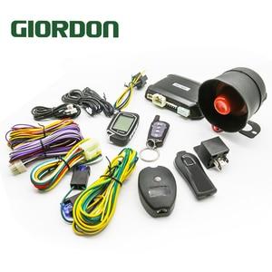 2 Way 100M Car Alarm System Wi