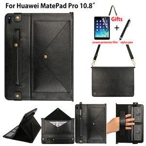 Чехол-конверт для Huawei Matepad Pro 10,8 MRX-W09 MRX-AL09 чехол с держателем-карандашом и подставкой + подарок