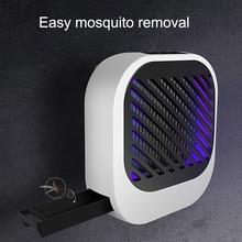 Electric USB Mosquito Repellent Killer LED Ultraviolet Light Electronics Photocatalyst Trap Lamp Silent Killing Pest Repellents