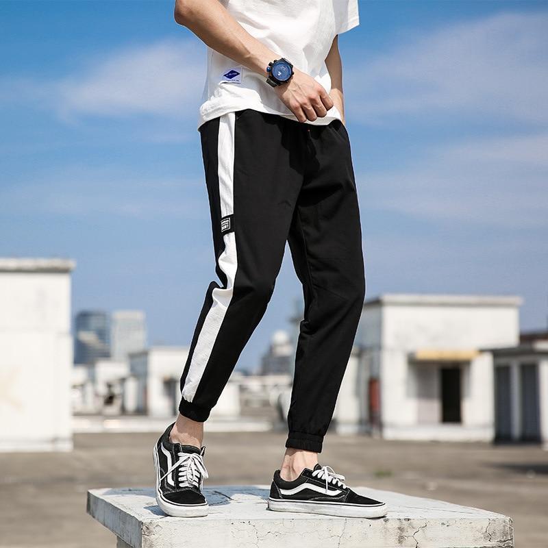 2018 Autumn New Style Casual Pants Men's Korean-style MEN'S Casual Pants Youth Casual Pants Men's Fashion Man