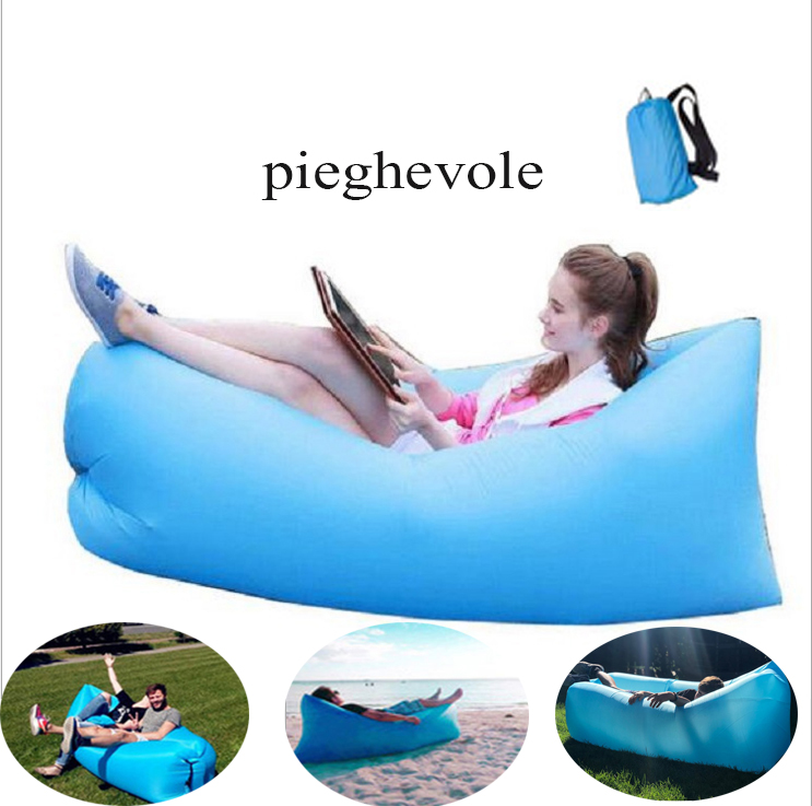Chair Sofa-Bed Lounger Couch-Seat Lazy-Air Garden Outdoor Inflatable Beach Folding-Sleeping-Bag