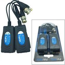 Coppia 5MP HD PV Passive Power Video Dati Audio Balun RJ45 2 Trasmettitore Twisted-Pair Maschio BNC Q9 per UTP cavo HD-CVI/AHD/TVI/CVBS