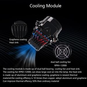 Image 4 - SANVI Car Bi LED&laser Projector Lens headlight 35w 6000K hi low beam Auto LED Projector Headlight Car Motorcycle Light Ppgrade