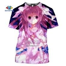 Anime Puella Magi Madoka Magica 3D Print Men's T-shirt Haraj