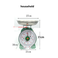 Mechanical Double sided Dial Scale 10kg Spring Scale Household Dial Scale Mechanical Bench Scale Kitchen Scale 20KG