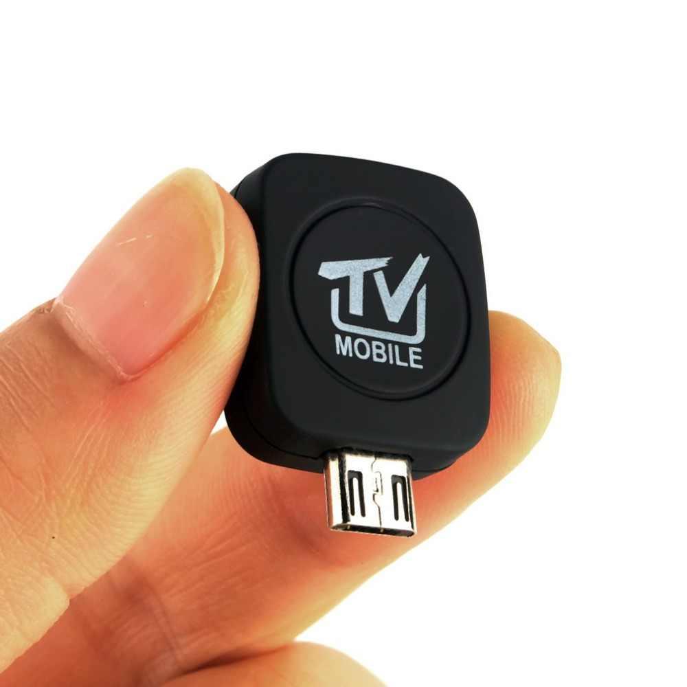 1 pc Mini Micro USB DVB-T Eingangs Digitale Mobile TV Tuner Receiver für Android 4.1-5,0 EPG Unterstützung HDTV Erhalt