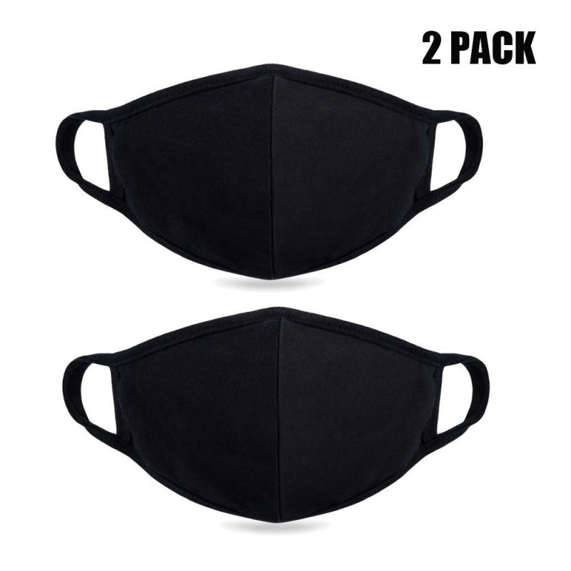 Unisex Mouth Mask Adjustable Anti Dust Face Mouth Mask,Black Cotton Face Mask For Cycling Camping Travel Healthy Mask