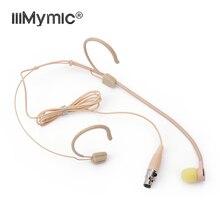 เหมาะสำหรับร้องเพลงคอนเสิร์ต!! 3Pin XLRชุดหูฟังHeadwornไมโครโฟนUni DirectionalสำหรับAKG Bodypack Transmitter