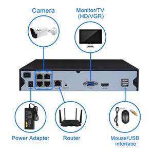 Image 2 - Keeper H.265 CCTV NVR 52V PoE 8CH 1944P / 4CH 1944P Surveillance CCTV Video Recorder PoE P2P ONVIF Motion Detect NVR registrar