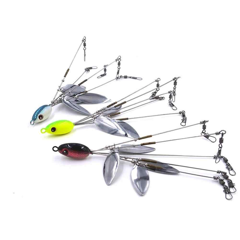 5Arms 4Blades Umbrella Alabama Rig for Freshwater Crappie Lure Fishing Bait Hot