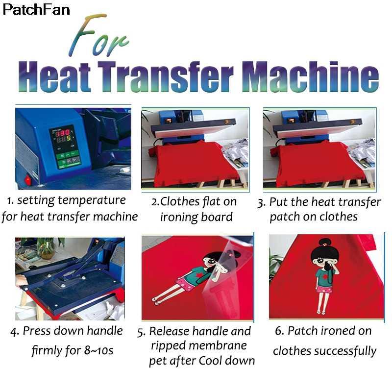 Patchfanเพื่อนทีวีแสดงรีดผ้าโอนแพทช์ความร้อนสติกเกอร์ครอบครัวน่ารักPatch DIY Appliquesผู้ปกครอง-childs A1779