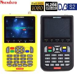 V8 buscador de satélite Digital de 3,5 pulgadas LCD buscador de satélite, satélite Digital medidor de localizador de señales de satélite metros por satélite,
