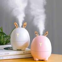 320ML Ultraschall-luftbefeuchter Aroma Ätherisches Öl Diffusor für Auto USB Fogger Kühlen Nebel Maker Startseite USB Diffusoren Air frischer