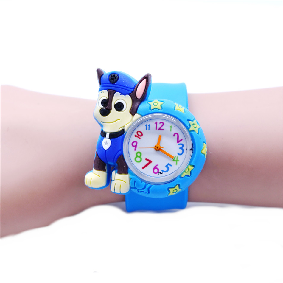 Baby Toys Gift Animal Dog Watch Cartoon Clock Kids Watches Quartz Toddler Boy Girl Gifts 1-6 Years Old Child Watch