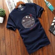 6241-glowna ulica lato nowe meskie osobowosci guziki dekoracyjne wokol szyi prosty T-shirt z krotkim rekawem