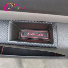 Автомобильный коврик с желобом для двери для Chevrolet Cruze 2009 2015, аксессуары, Противоскользящий коврик для чашки, резиновые коврики с отверстиями для отверстий, коврик для интерьера автомобиля, Стайлинг автомобиля