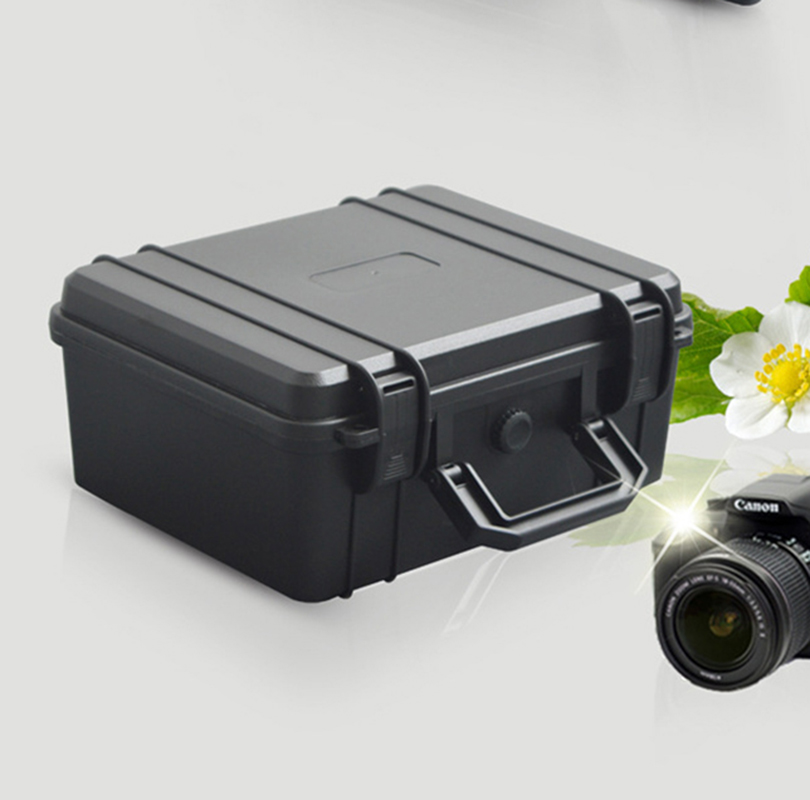 SQ2620 High Quality Waterproof Plastic Tool Case With Pluck Foam Tool Box For Camera