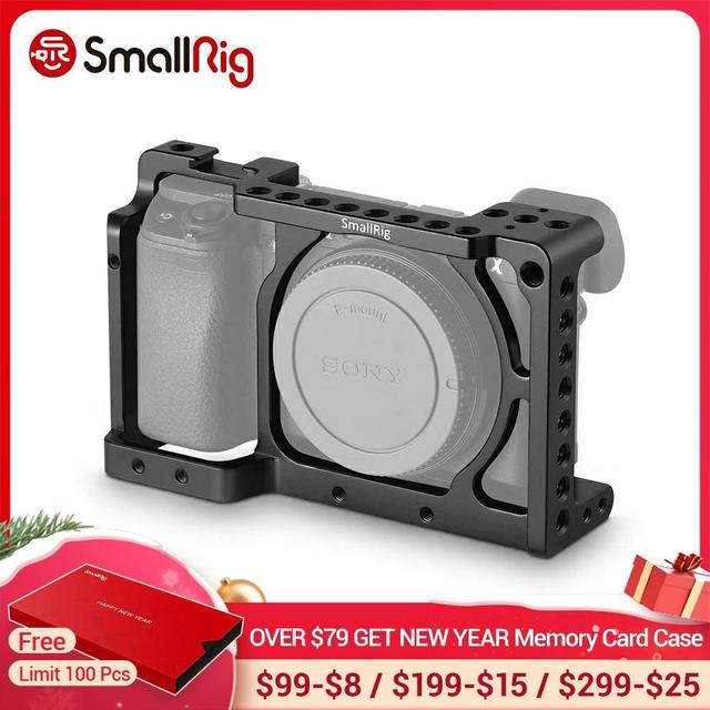 SmallRig מצלמה כלוב עבור Sony A6000 / A6300 / A6500 ILCE 6000/ILCE 6300/ILCE A6500/Nex 7 תא 1661